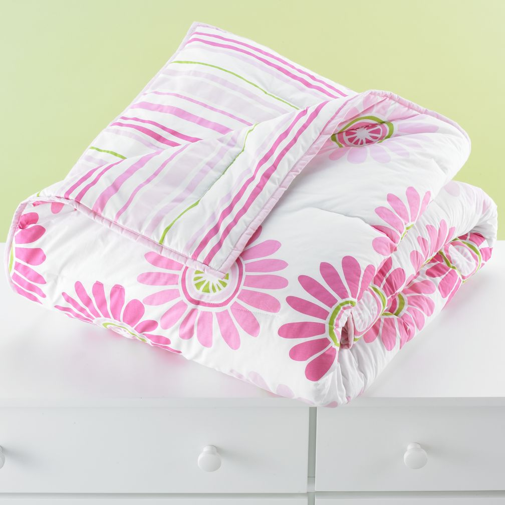 Fresh as a Daisy Comforter (Pink)